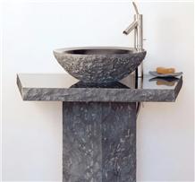 Blue Limestone Sink,Washing Basin,Bowl,Shower