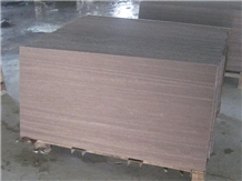 Purple Wooden Vein Marble Slab