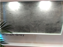 Mariah Grey Marble Slabs, Tiles Cut to Size