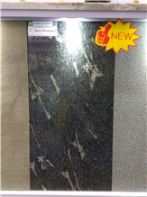 Nero Nuvolato Granite Slabs, Tiles