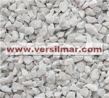 Bianco Carrara Chips Mm. 9/12