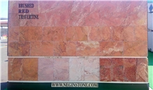 Red Travertine Tile
