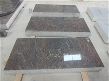 Paradiso Purple Granite Monuments Flats Gravestone