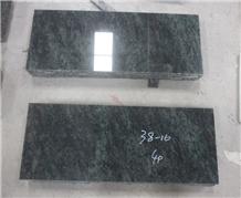 Tropical Green Granite Gravestone Flats Tombstone