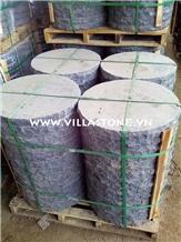 Viet Nam Basalt Lava Rouned Garden Stepping Stone
