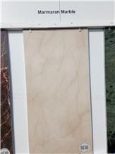 Marmaran Cream Marble Tiles, Slabs Cut to Size