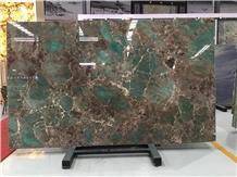 Amazon Green Quartzite Slabs