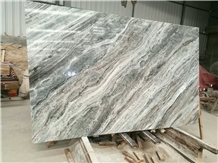 India Fantasy Brown Marble Slabs & Tiles