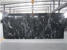 Nero Fantasy Granite,China Cosmic Black Granite