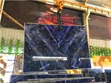 Sodalite Blue Granite, Dark Blue Granite Slabs