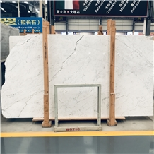 Hot Sell Italy Statuario White Marble Slab