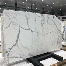 Italy Calacatta White Marble Slab and Wal