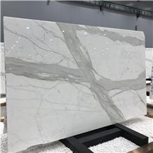 Luxury Italy Calacatta Marble Slab Wall