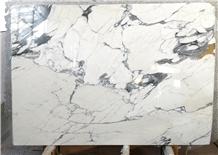 Statuario Nuvolato Marble Slabs