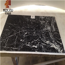 Black Marquina Marble, Volos Black Marble Tiles