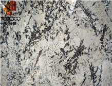 Brazil Luxury Alps White Granite Slab