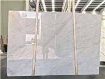 Carrara White Marble Kitchen Top
