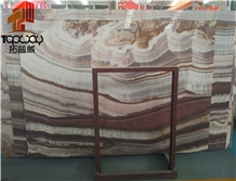 Colorful Jade Onyx,Purple Pattern Slabs&Tiles