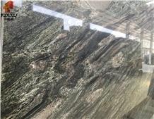 Green Granite Verde Imperial Granite Slab