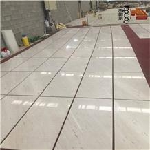 Polaris Civic, Yugosia White Marble for Flooring