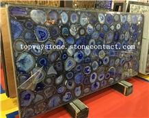Translucent Blue Gemstone,Blue Agate
