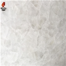 White Translucent Onyx Slabs, White Ice Onyx