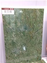 Lappia Green Marble Slabs, Tiles