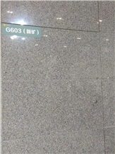 New G603 Granite Slabs, Tiles