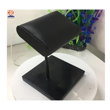 Display Marble Base Leather Marble Watch Stand