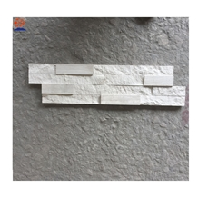 White Wooden Vein Marble Cultured Stone Wall