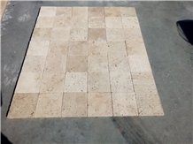 Tumbled Beige Travertine Tiles Good Price