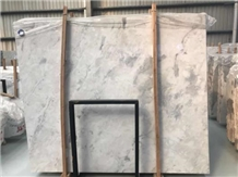Chinese Ink Painting White Marble Slabs & Tiles