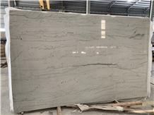 Opus White Quartzite Slab