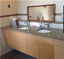 Gabriola Sandstone Bathroom Countertops