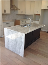 North Island White Marble Countertops
