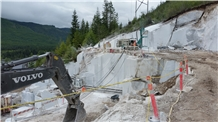 Pacific White Marble Block, Canada White Marble