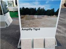 Ampilly Tigre Limestone Slabs, Tiles