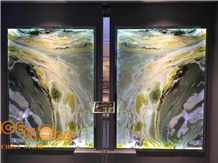 Chinese Dreaming Green Marble Wall Covering Tiles