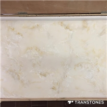 Hot Sale Translucent Polished Faux Alabaster Wall Panel