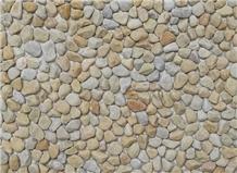 Cream Yellow Pebble Stone-4705
