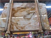 China Lingloing Jade Slab Tiles Wall Claddding