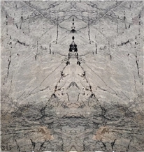 China Swiss Grey Marble Slab Tiles Wall Cladding
