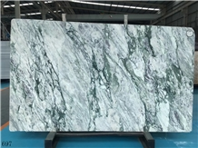 China Vielot White Marble Slab Tiles Wall Cladding