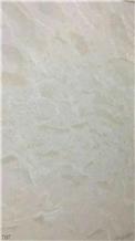 Iran Dehbid White Marble Slab Tiles Wall Use