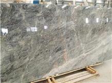 Italy Vienna Golden Marble Grey Stone Slab Tile