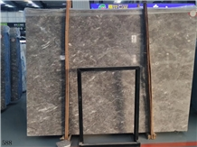 Ocean Gray Fossil Grey Marble Slab in China Market
