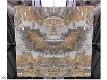 Peru Brown Onyx Slab Tiles Walling Flooring Use