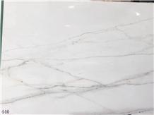 Tajikstan Linken White Marble Slab Waling Tiles