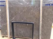 Turkey Cyprus Grey Marble Slab Tiles Floor Use