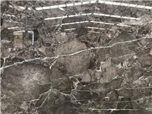Turkey Jaguar Grey Marble Slab Wall Floor Tiles
